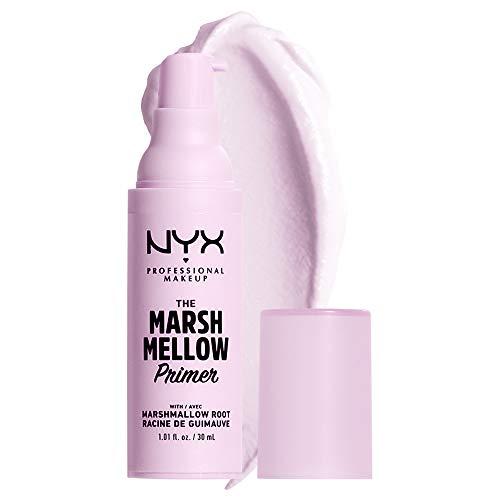 NYX PROFESSIONAL MAKEUP Marshmellow Smoothing Primer, Vegan Face Primer, 10-In-1 Skin Benefits