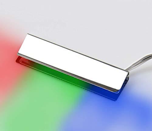 LED RGB Glaskantenbeleuchtung Glasbodenbeleuchtung Vitrinenbeleuchtung Clip Glas, Auswahl:1er SET