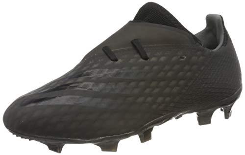adidas X GHOSTED.2 FG, Zapatillas de fútbol para Niños, NEGBÁS/NEGBÁS/GRISEI, 36.67 EU