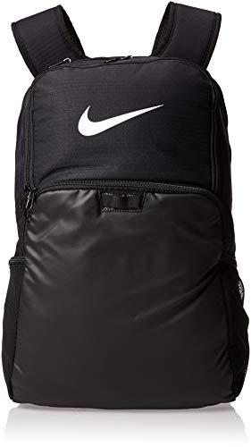 NIKE Brasilia XLarge Backpack 9.0, Black Black White, Misc