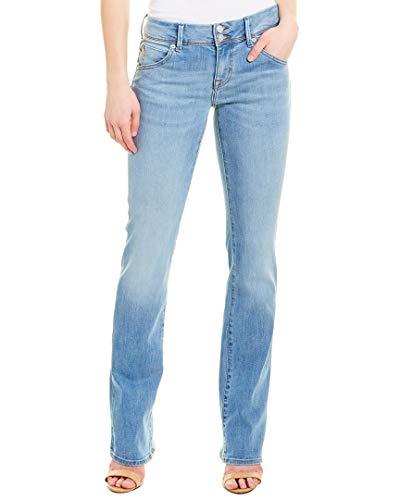 Hudson Jeans Womens Holly Hr Crop Flare Bk Det