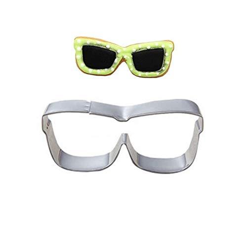 AVEE Sonnenbrille Plätzchen Werkzeuge Kuchen Stencil Küche Kuchen-Dekoration Vorlage Mold-Plätzchen Kaffee Stencil-Form-Backen Backen Fondant