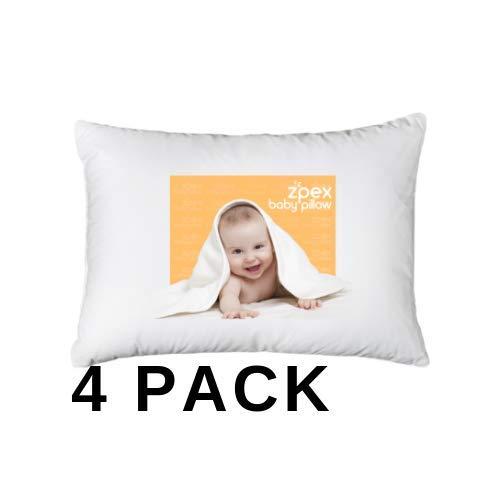Boys 2 100/% Certified Organic Cotton Soft Comfy Toddler Pillows Pillowcases