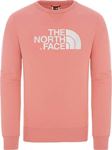 THE NORTH FACE Drew Peak Crew Sweatshirt Herren Altrosa/weiß, M