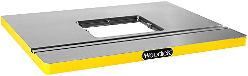 "Woodtek 165548, Portable Power Tool Accessories, Routers & Trimmers, Large Cast Iron Router Table 32"" X 24"