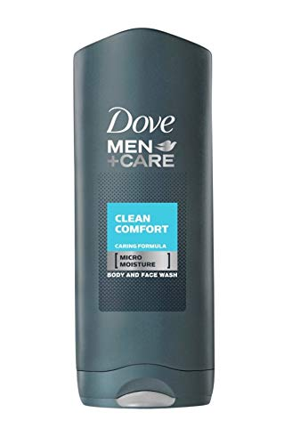 Dove Men+Care Men Clean Comfort Gel de Ducha Dermatológicamente Testado, 400 ml - 3 unidades