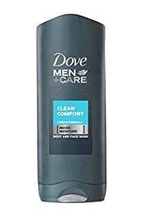 Dove Men+Care Clean Comfort Body wash 400 ml (B00J4LG7AI) | Amazon price tracker / tracking, Amazon price history charts, Amazon price watches, Amazon price drop alerts