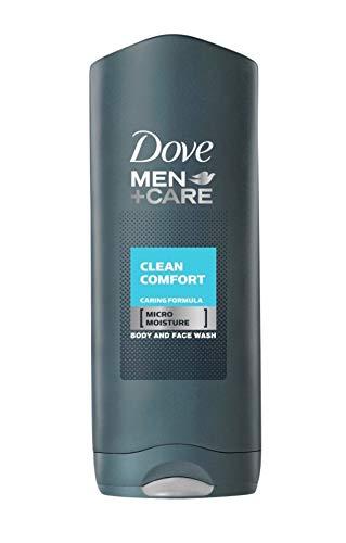 Dove Men+Care Men Clean Comfort Gel de Ducha Dermatológicamente Testado, 400 ml - 3 unidades