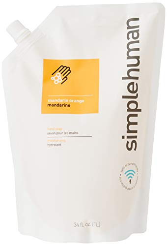 simplehuman Lavender Moisturizing Liquid Hand Soap 34 Fl. Oz. Refill Pouch