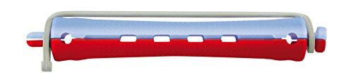 Comair 3012009 kaltwell Enrouleur de 12 couleurs 2 11 mm court rond en caoutchouc, bleu/rouge