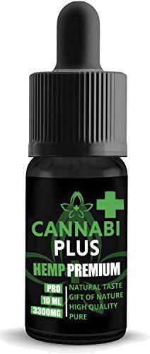 Cannabi Plus Pure Oil 33% | Naturale e autentico | Prodotto nei Paesi Bassi