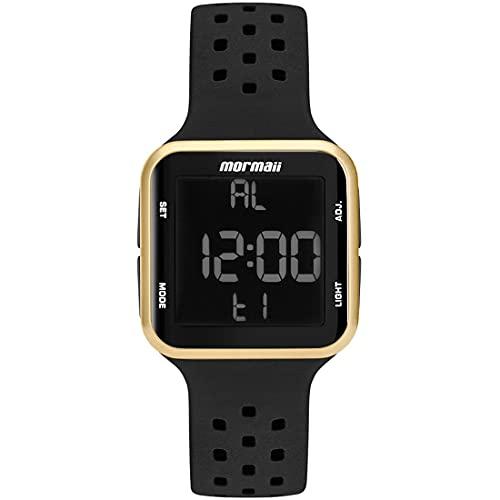 Relógio Mormaii Unissex Wave Preto MO6600/8D MO6600/8D