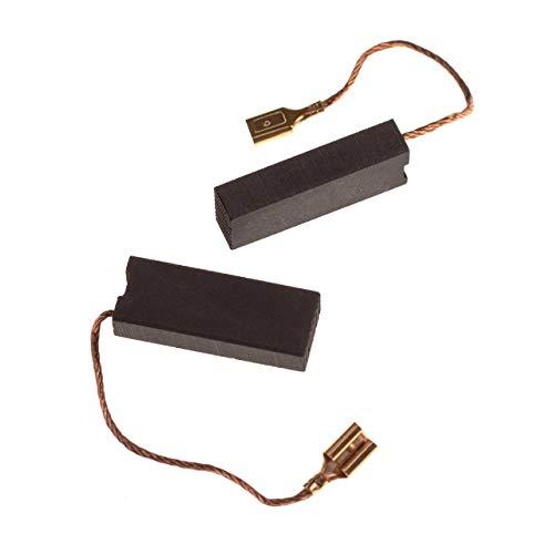 vhbw 2x Escobilla de carbono 6,3 x 11,2 x 29mm reemplaza Husqvarna 508.043.705 para cortacésped