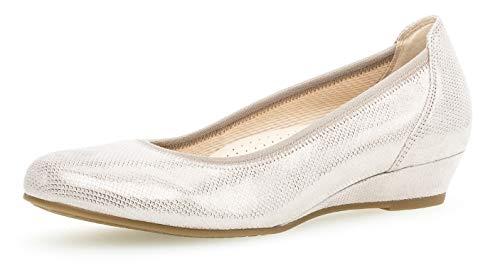 Gabor 22.690 Damen Ballerinas,Frauen,Flats,Sommerschuh,klassisch Comfort-Mehrweite,Muschel,6.5 UK