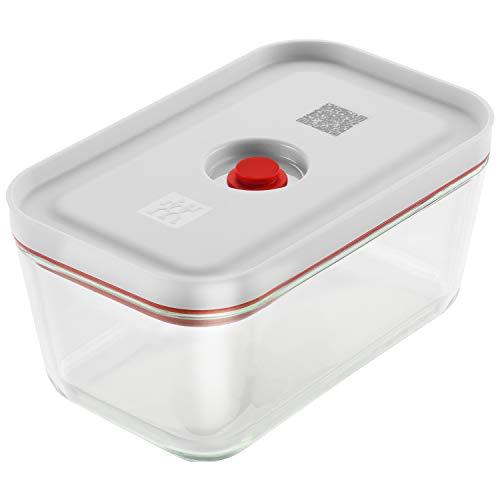 Zwilling ツヴィリング 「 フレッシュ & セーブ ガラス製 真空コンテナ Mサイズ 900ml 」 耐熱ガラス 保存容器 2020年モデル 日本正規販売品Fresh & Save 36809-200
