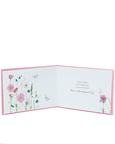 Birthday Card for Her - Friend Birthday Card - Beautiful Floral Design