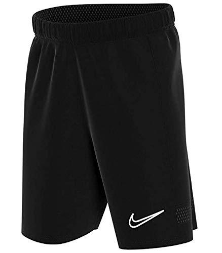 Nike Y Nk Dry Acd21 Short K, Pantalón corto, Youth Unisex, OBSIDIAN/OBSIDIAN/OBSIDIAN/WHITE, L
