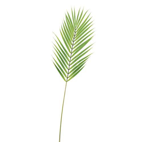 artplants.de Set 6 x künstlicher Bambuspalmen Wedel Emilio, grün, 75cm - Palmblatt - Deko Palmzweig