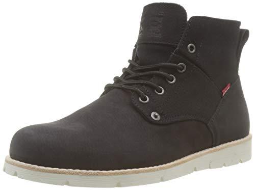 Levi's Herren Jax Desert, Schwarz (Boots 59), 45 EU