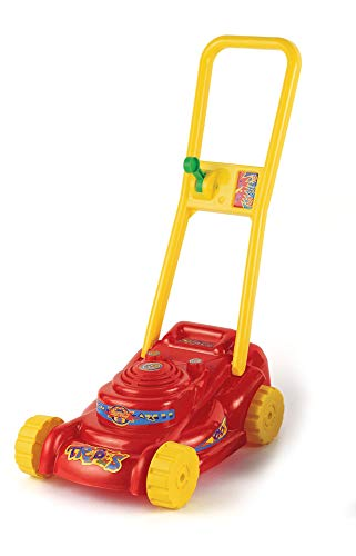 Rasenmäher Kinderrasenmäher Spielzeugrasenmäher mit Geräuschen (rot)