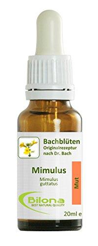 Joy Bachblüten, Essenz Nr. 20: Mimulus; 20ml Stockbottle
