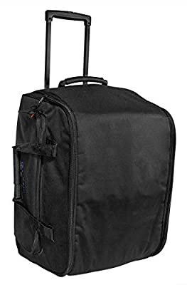 Rockville Rolling Travel Case Speaker Bag w/Handle+Wheels For QSC K12.2 from Rockville