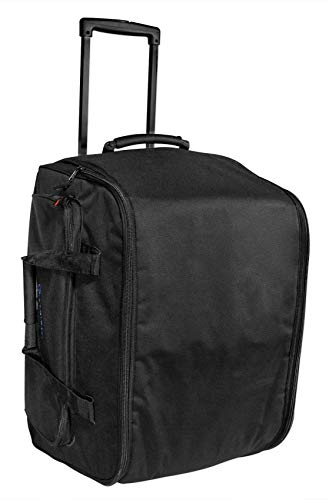 "Rockville SB12M Rolling Travel Bag for Select 12"" DJ PA Speakers+Handle+Wheels"