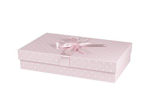 The Wedding Dress Box Company Caja de Vestir clásica Hecha a Mano para Boda, 75 cm x 50...