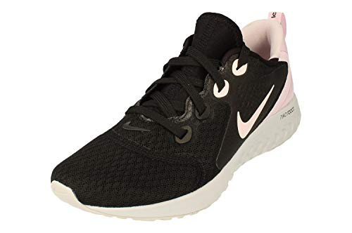 Nike Donne Legend React Running Trainers AA1626 Sneakers Scarpe (UK 3.5 US 6 EU 36.5, Black Pink Grey 007)