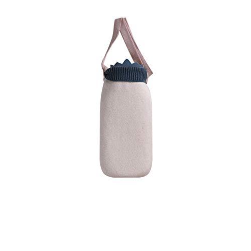 Silikon-wärmflasche, Wasserkocher, Fußwärmer, Handwärmer, Mini-handwärmer Langes Weiß