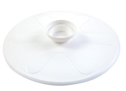 Tescoma 420876 Coperchio Girafrittata Bianco In Plastica 'Presto'