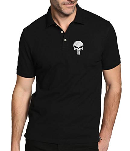 The Fan Tee Polo de Hombre Punisher Castigador Comic 003 M