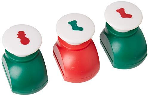 OmniReselling Pack van 3 papiersnijders, v2 sok 1 sneeuwpop, niet gespecificeerd