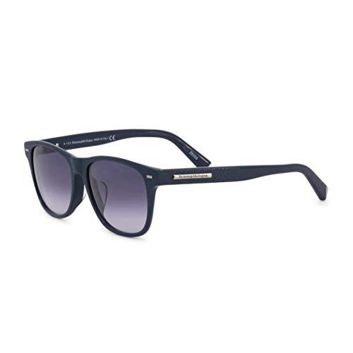 Ermenegildo Zegna Sonnenbrille EZ0020-F Gafas de sol, Azul (Blau), 56.0 para Hombre