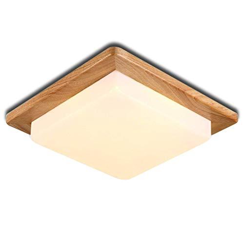 TLX-LAMP LED Moderne Deckenleuchte Minimalistische Deckenlampen Kreative Deckenbeleuchtung Deckenstrahler Holz Lampeschirm Wohnzimmer Schlafzimmer Höhle Restaurant Innenlampe Kinderzimmer Warm Licht