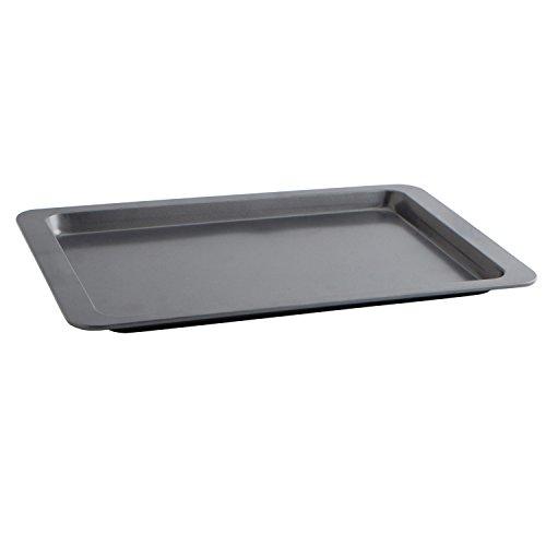 Quid Sweet Grey - Bandeja para horno, 43 x 29 x 2 cm, color gris
