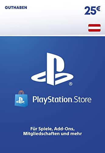 PSN Guthaben-Aufstockung   25 EUR   österreichisches Konto   PS5/PS4 Download Code