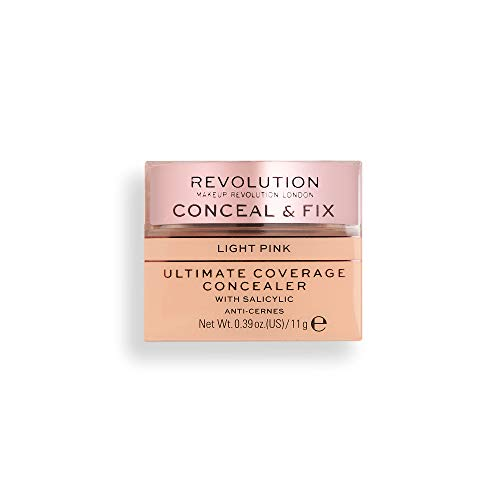 Revolution Conceal and Fix Ultimate Coverage Correcteur Rose clair