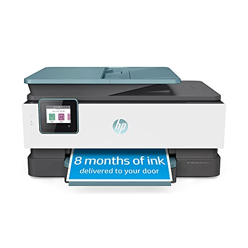 HP OfficeJet Pro 8035 All-in-One Wireless Printer - Includes 8 Months...