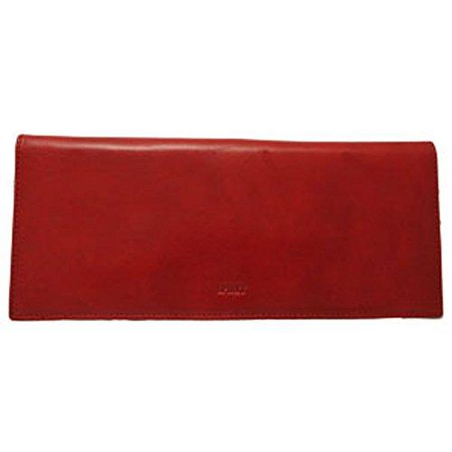 Spirit - Funda de talonarios de Piel Mujer rojo rojo Taille Unique