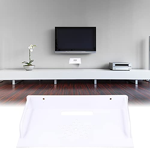 Soporte de enrutador duradero, soporte de enrutador de procesamiento más grueso para dormitorios, salas de estar y edificios de oficinas.