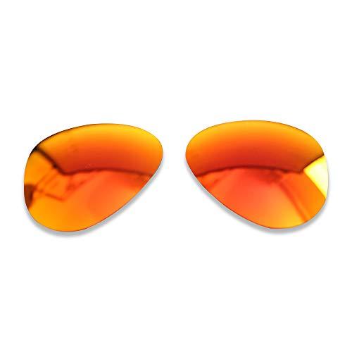 PolarLens Lentes polarizadas de repuesto para RayBan Aviator RB 3025 55 mm – Compatible con gafas de sol RayBan Aviator RB3025 55 mm
