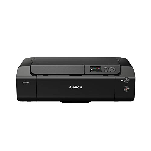 Canon imagePROGRAF Pro-300 - Stampante fotografica a getto d'inchiostro, a colori, Nero