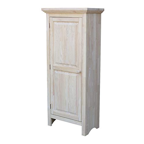 International Concepts Single Jelly Cabinet, 51-Inch, Unfinished