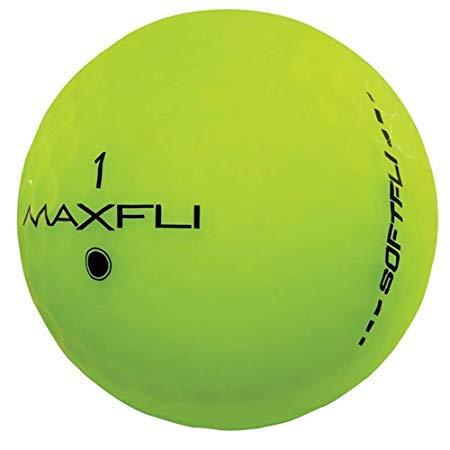 Maxfli SoftFli Matte Golf Balls - Longer Straight Distance - Soft Feel (Green - 36 Balls)