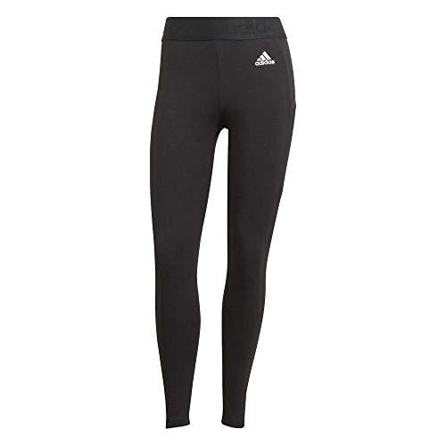 adidas Damen Leggings 7 8, Schwarz/Weiß, S EU