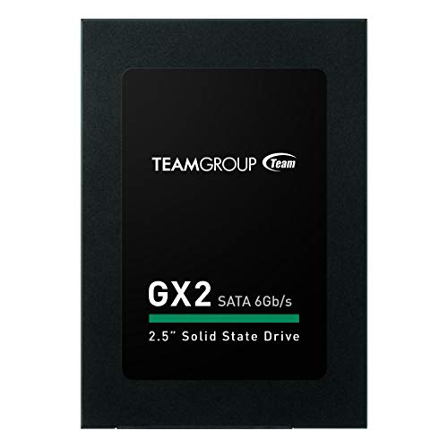 TEAMGROUP GX2 1TB 2.5 Inch SATA III Internal Solid State Drive SSD (Read Speed up to 530 MB/s) T253X2001T0C101