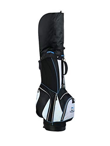 CHENG BAG Sac à Dos de Golf, Multifonction Mode Grande Capacité Nylon Imperméable 2,3 Kg Ultra-léger Base Stable Sac à Main Portable (Couleur : Bleu)