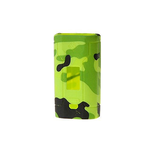 kanggaly Protective Silicone Sleeve Case Skin Cover for Wismec Predator 228W Mod (Camouflage)