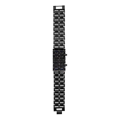 Duevin Reloj Digital para Pareja, Reloj Deportivo para Hombre, Reloj electrónico con iluminación LED(01)
